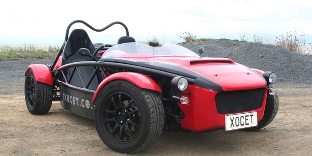 The Exocet wraps up the real essence of motoring, and at the kit will cost you $9990. Pictures / Ben Selby
