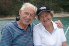 Tony  and Judy Laity, the owners of  36 Cowes Bay Rd, Wells Bay, Waiheke Island.