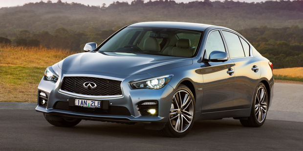 The Infiniti Q50 has been names as contender for the World Car of the year 2014. It has just gone on sale in Australia.