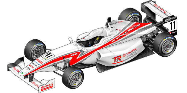 The FT50 will be the new vehicle for the Toyota Racing Series.