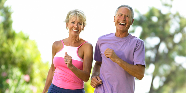 Walking for 30 to 40 minutes three times a week appears to be all that is needed to reverse some of the effects of age. Photo / Getty Images