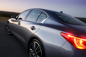 The Infiniti Q50 has gone on sale in the UK and is on sale in Australia.
