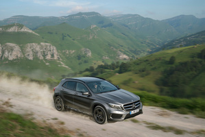Mercedes-Benz GLA 250 4MATIC is expected to be a big seller