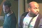 Rajenthiran Kavirayanathan, left, and Gobidnhan Thileepan whom the police are still searching for