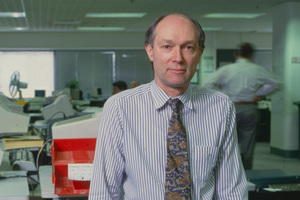 Paul Norris was head of TVNZ news and current affairs from 1987 to 2002. Photo / NZ Listener