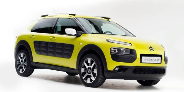 The Citroen Cactus features an unconventional interior design with plenty of space.