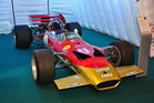 The ex Graham Hill Gold Leaf Lotus 49 will be auctioned off at Goodwood in June.