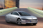 The VW XL1 is made of carbon fibre and weighs just 795kg.