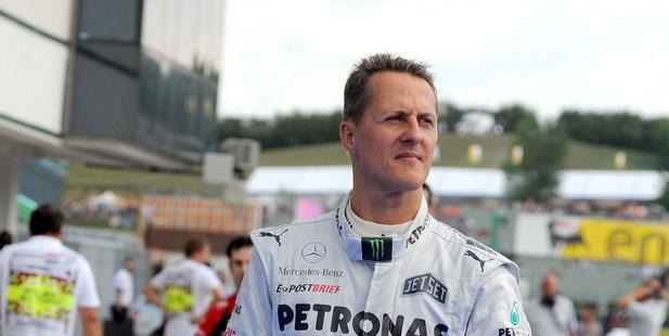 German Formula One driver Michael Schumacher. Photo / AP