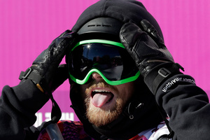 Freestyle skier Jossi Wells has just missed out on winning New Zealand's second ever Winter Olympics medal with a fourth in the halfpipe event at Sochi. Photo / AP