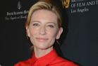 Cate Blanchett. Photo / AP