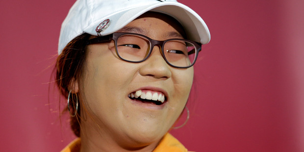 The choice of Lydia Ko provokes more debate over the Halberg Awards. Photo / AP
