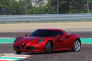 Alfa Romeo 4C. Photo / Supplied