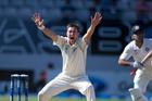 New Zealand Black Caps bowler Trent Boult. Photo / Brett Phibbs
