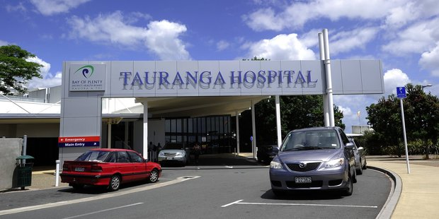 The three-year old girl was flown to Tauranga Hospital after being attacked by a farm dog.