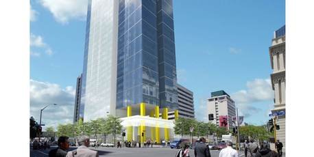 Property proposal for the new 30-level-tower.
