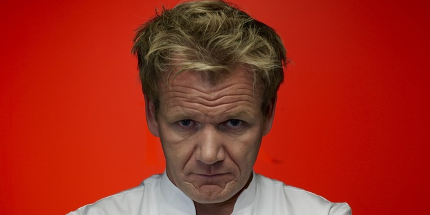 Chef Gordon Ramsay says he cried when he lost a Michelin star.