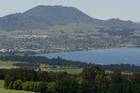 Mt Tauhara, overlooking Taupo. File photo / Greg Bowker