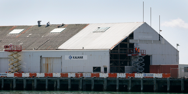 Tt was a relief to see the dismantling of Shed 11, particularly because its absence clarified the potential of Queens Wharf. Photo / Sarah Ivey