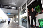 Discretions Lifestyle Boutique owner Gordon Arkus. Photo/Paul Taylor
