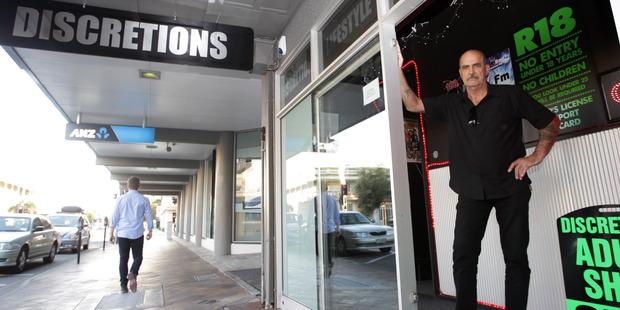 Discretions Lifestyle Boutique owner Gordon Arkus. Photo/Paul Taylor