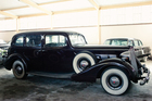 A Packard similar to this one will lead next Saturday's big parade.