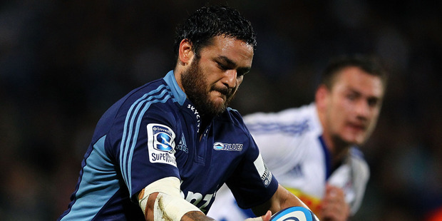 Join us here for our live blog of the Super Rugby match between the Highlanders and the Blues from Forsyth Barr Stadium in Dunedin. Photo / Getty Images.