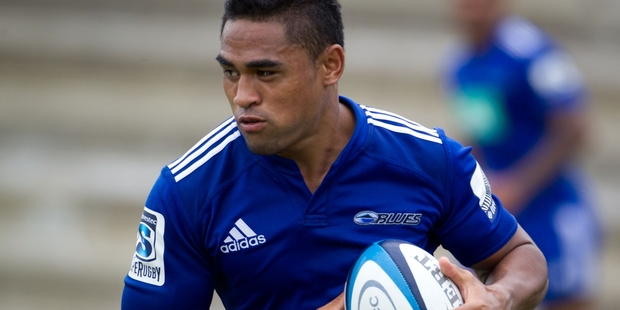 Francis Saili has explosive talents and a positive mindset. Photo / Richard Robinson