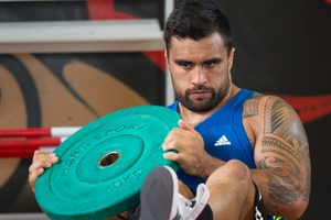 Chiefs co-captain Liam Messam will travel to Christchurch without being able to call on the services of his fellow All Black loose forward Sam Cane, who is injured. Photo / Stephen Parker