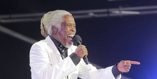 Billy Ocean performs at last night's Mission Concert.