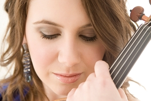 Chloe Hanslip impressed with Corigliano's Red Violin.