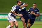 The Blues' backs - including Charles Piutau - are looking likely as a new Super Rugby season starts. Photo / Natalie Slade
