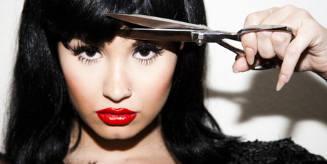 Demi Lovato. Photo / Tyler Shields