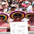 Fans at the NRL Auckland Nines at Eden Park. Photo /  Doug Sherring