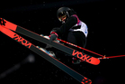 Janina Kuzma in action at the Sochi Winter Olympics. Photo / Getty Images