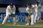 Brendon McCullum, in action against India, on his way to New Zealand's first triple century. Photo / Mark Mitchell