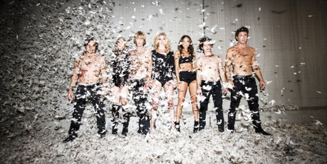 The cast of 'Revenge'. Photo / Tyler Shields