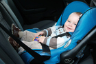 Experts say there are dangers to letting your baby sleep in a carseat. Photo / Thinkstock