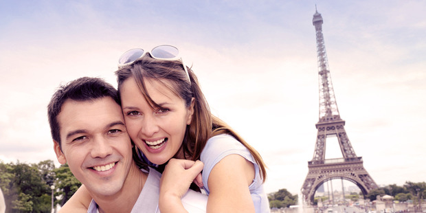 'Just hanging out in Paris, no big deal #SoLucky'. Photo / Thinkstock