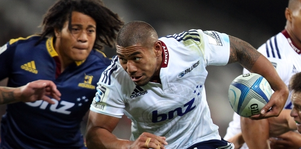Charles Piutau's rise to a starring role for the Blues has been meteoric. Photo / Getty Images