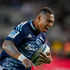 Super Rugby: Blues Tevita Li in action against the Crusaders at Eden Park. Photo / Richard Robinson