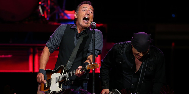 Bruce Springsteen will perform live for fans on Saturday night at Mt Smart Stadium, Auckland. Photo / Getty Images