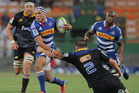 Gio Aplon of the Stormers in action during the Super Rugby match between DHL Stormers and Hurricanes. Photo / Getty Images