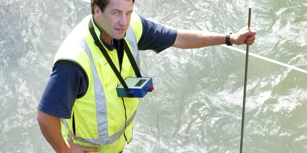 MONITORING RAINFALL: Northland Regional Council hydrologist Alan Bee. PHOTO FILE