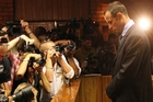 Oscar Pistorius faced the preliminaries to his murder trial in a blaze of publicity. Photo / AP