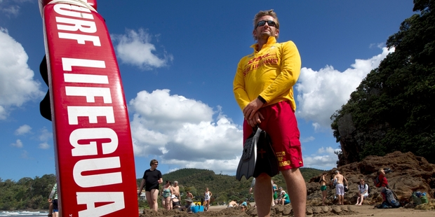 Gary Hinds says the rescue highlights a lack of funding for the lifeguard service. Photo / Alan Gibson