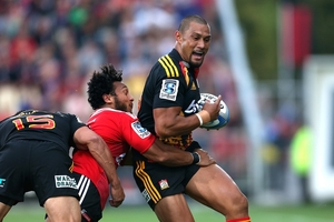 Back from surgery, Robbie Fruean scored against his former team in round two. Photo / Getty Images