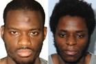 Michael Adebolajo (L) and Michael Adebowale (R) who were found guilty of the murder of British soldier Lee Rigby. Photo / AFP
