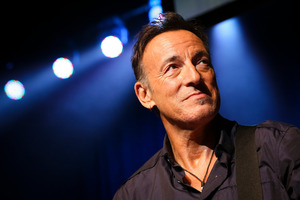 Bruce Springsteen plays two shows at Mt Smart Stadium this weekend.  Photo/AP