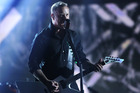 James Hetfield has '800 riffs' ready for Metallica's new album, says guitarist Kirk Hammett. Photo/AP